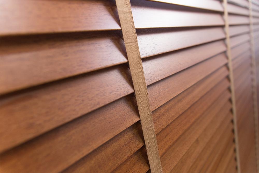 Cortinas venecianas en madera de fabricaci n propia persiv n - Cortinas venecianas madera ...