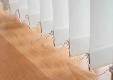 Cortinas verticales de fabricación propia