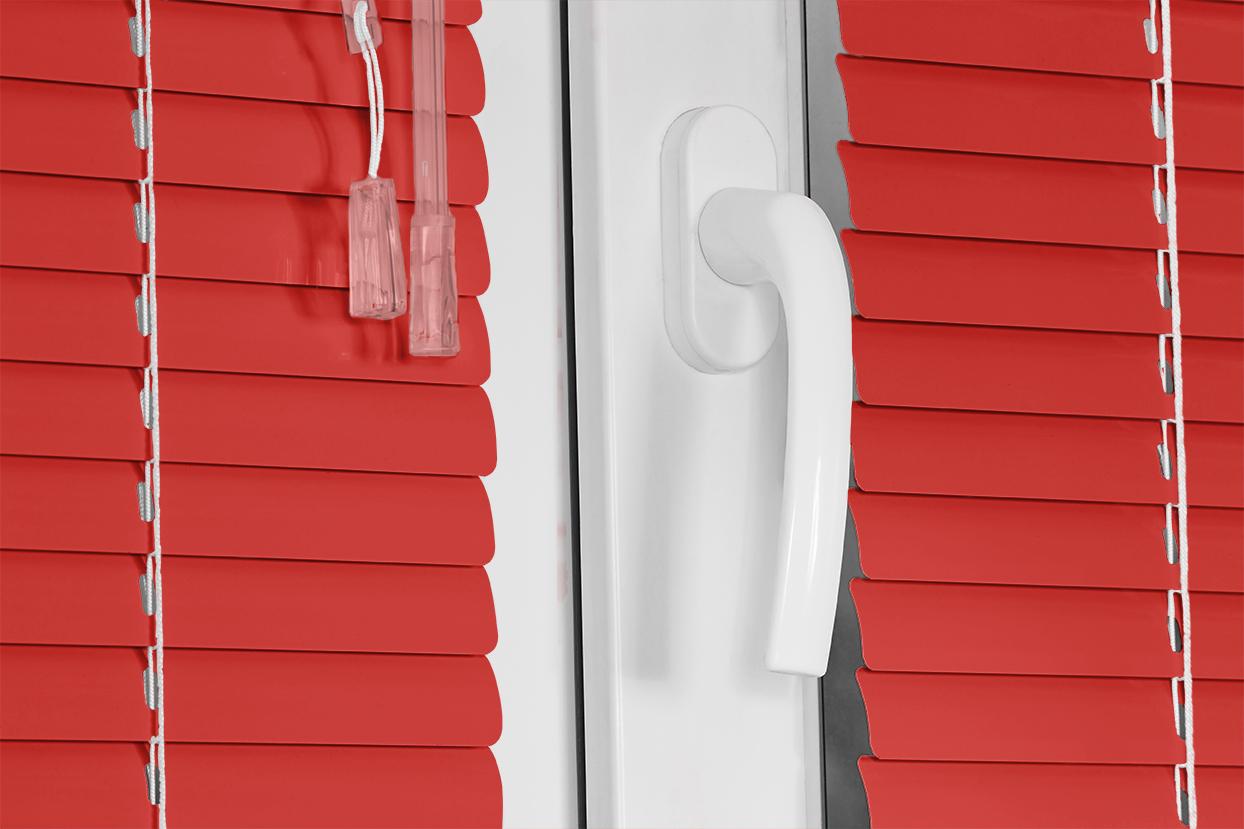 020 Chinesse Red. Corinas venecianas de fabricación propia