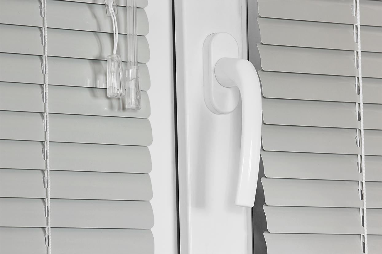 075 Glossy Gray. Corinas venecianas de fabricación propia